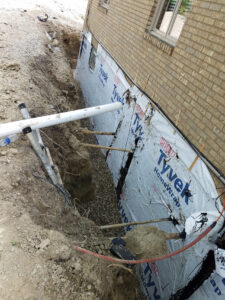 Residential French Drain 1